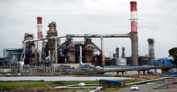 FILE PHOTO:  Refinery strike in France