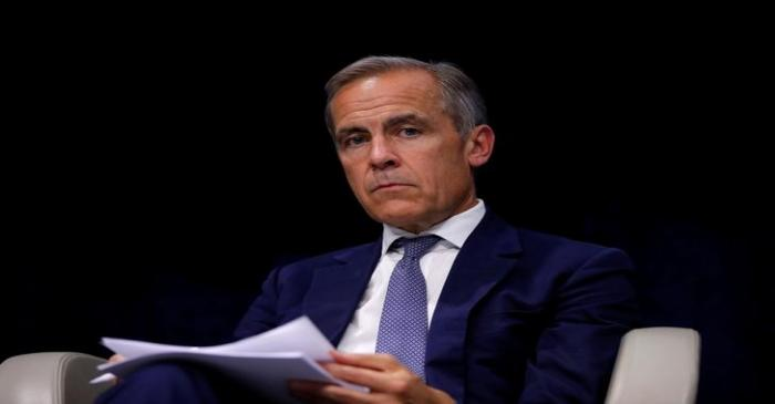 Bank of England governor Mark Carney attends a conference entitled