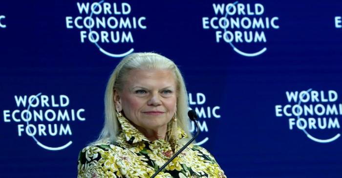 FILE PHOTO:  2020 World Economic Forum in Davos