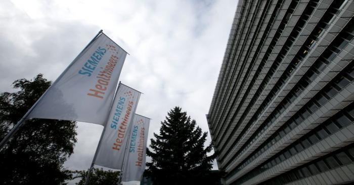 FILE PHOTO:  Siemens Healthineers headquarters is pictured in Erlangen