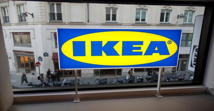 FILE PHOTO: Swedish furniture giant IKEA store before its opening in the heart of Paris