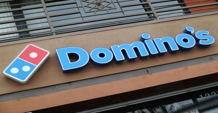 FILE PHOTO:  A Domino's Pizza restaurant is seen in Los Angeles