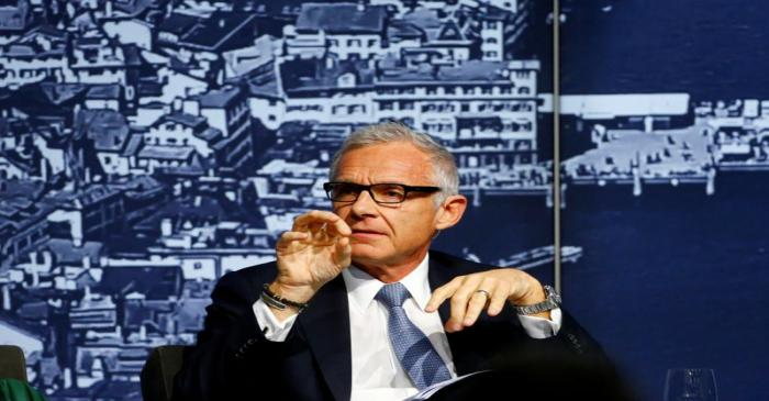 Chairman Rohner of Credit Suisse takes part at the Swiss International Financial Forum in