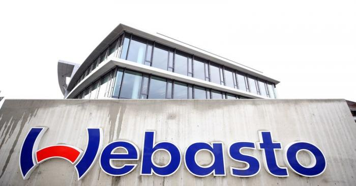 A view shows the headquarters of the German company Webasto in Stockdorf near Munich