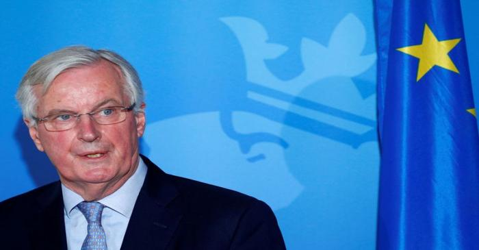 EU Chief Brexit negotiator Barnier meets Luxembourg's PM Bettel in Luxembourg
