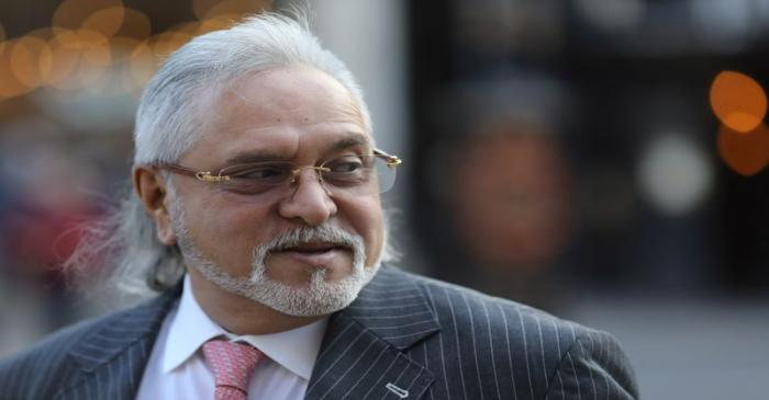 Indian businessman Vijay Mallya arrives at the Royal Courts of Justice in London