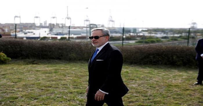 U.S. Secretary of Energy Dan Brouillette visits the LNG (liquefied natural gas) terminal at the