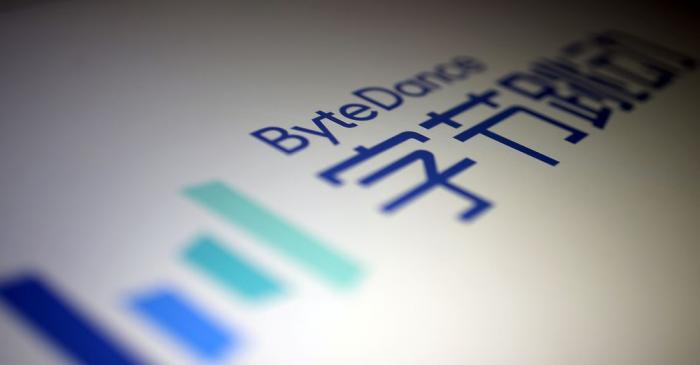 ByteDance logo is seen in this illustration