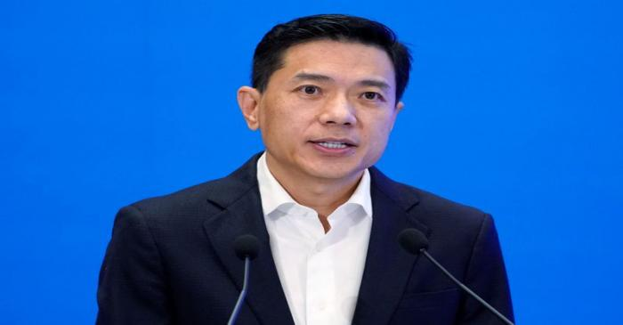 FILE PHOTO: Baidu's co-founder and CEO Robin Li speaks during the World Internet Conference