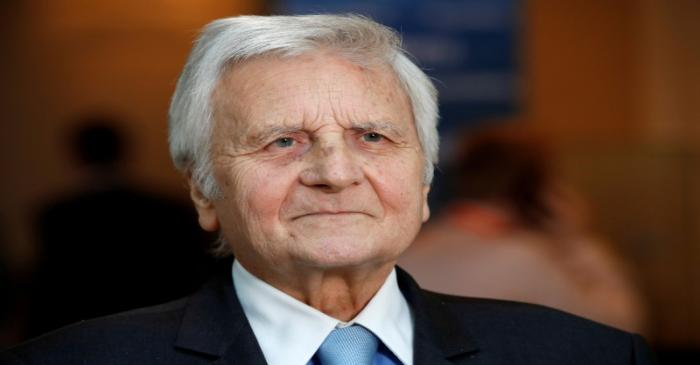 FILE PHOTO: Former European Central Bank (ECB) President Jean-Claude Trichet attends a