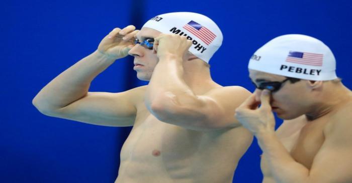 FILE PHOTO: Swimming - Men's 200m Backstroke - Heats