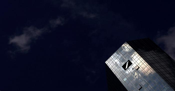 FILE PHOTO: The headquarters of Germany's Deutsche Bank are photographed in Frankfurt