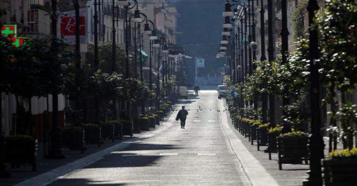 FILE PHOTO: Italians continue second week in coronavirus lockdown