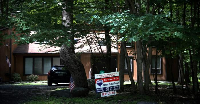 FILE PHOTO: An unoccupied home is seen in the Penn Estates development in East Stroudsburg