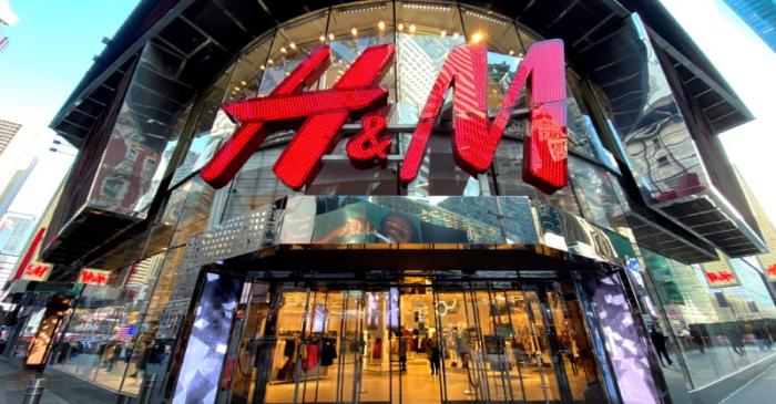 FILE PHOTO: The H&M clothing store in New York's Times Square