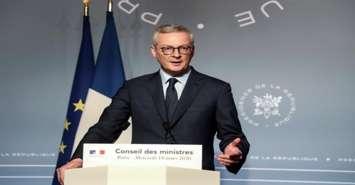 News conference after weekly cabinet meeting at the Elysee Palace in Paris