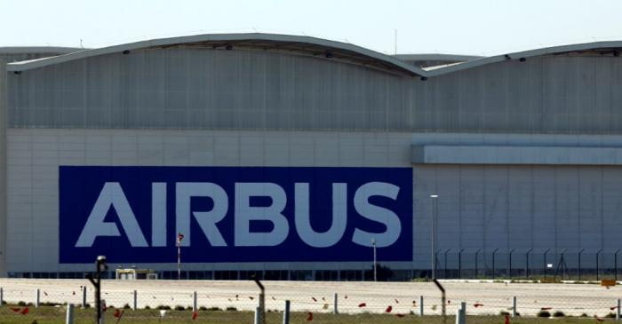 FILE PHOTO: An Airbus assembly plant in Seville, southern Spain