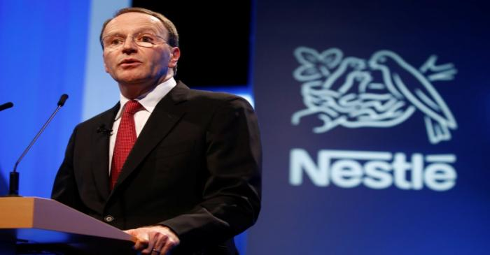 FILE PHOTO:  Nestle CEO Schneider attends the 152nd Annual General Meeting of Nestle in