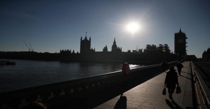 FILE PHOTO: Spread of the coronavirus disease (COVID-19) in London