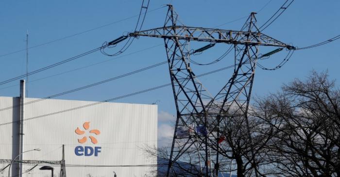 FILE PHOTO:  View shows Electricite de France nuclear power plant near Fessenheim