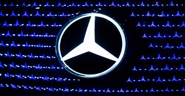 Ola Kaellenius, CEO of German luxury car manufacturer Daimler AG, speaks at the annual results