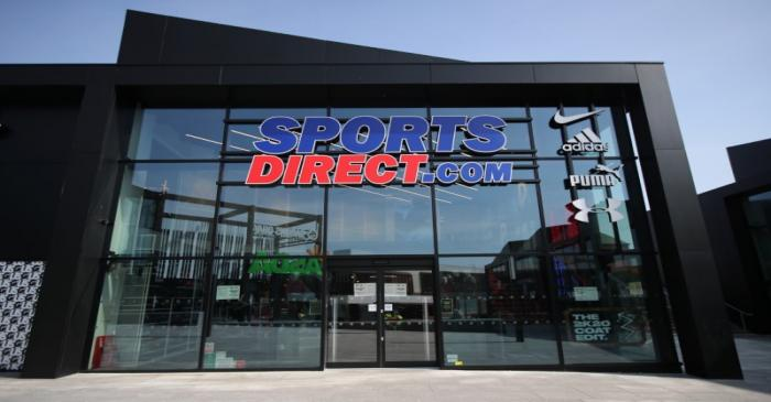 Sports Direct announce store closures