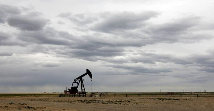 FILE PHOTO: A TORC Oil & Gas pump jack near Granum