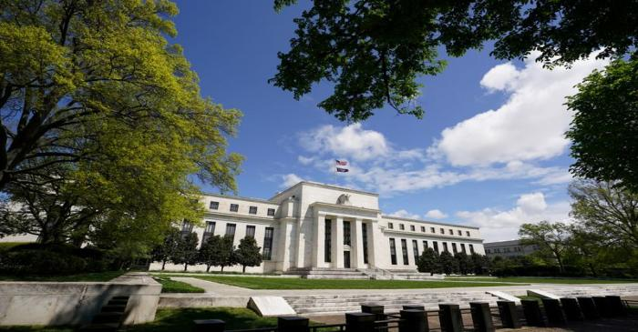 FILE PHOTO: The Federal Reserve on Mayday in Washington