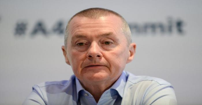 FILE PHOTO: Willie Walsh Chief Executive of International Airlines Group (IAG) attends the