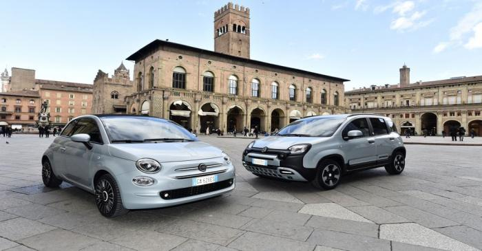 FILE PHOTO: Fiat Chrysler presents mild-hybrid versions of its 500 and Panda models