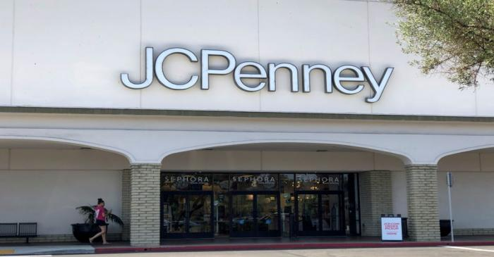 FILE PHOTO: FILE PHOTO: A JC Penney store is shown in Oceanside