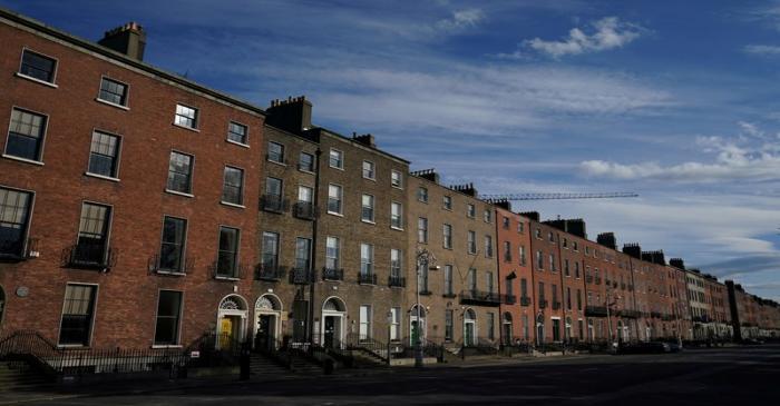 FILE PHOTO: The spread of the coronavirus disease (COVID-19) in Dublin
