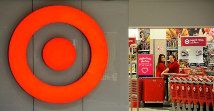 File photo of employees working at a Target store at St. Albert
