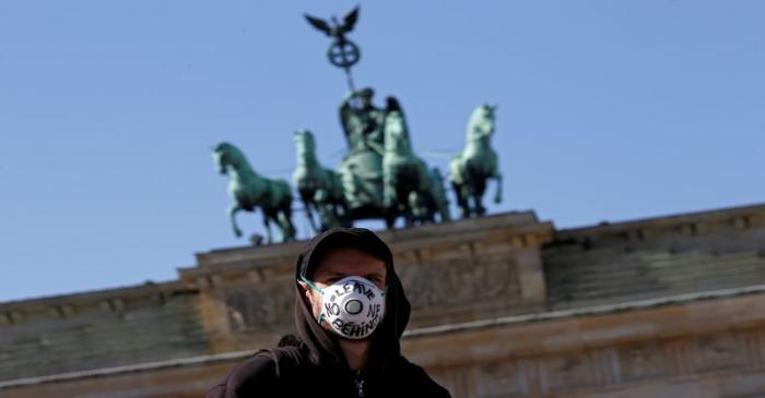 FILE PHOTO: Coronavirus disease (COVID-19) outbreak in Berlin