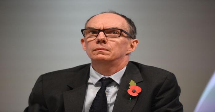 FILE PHOTO: Bank of England Deputy Governor for Markets and Banking, Dave Ramsden attends a