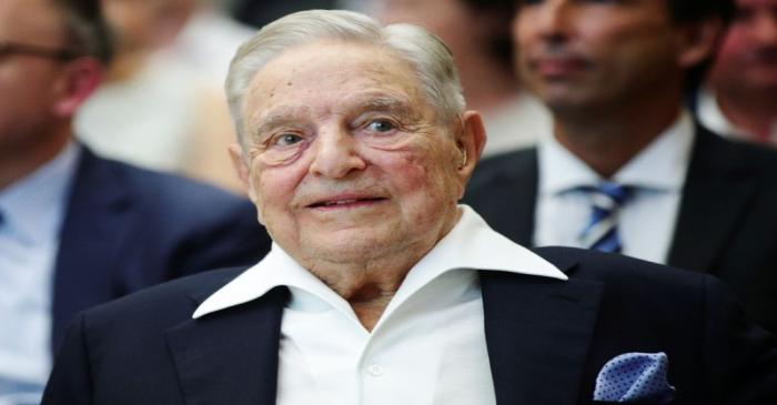 FILE PHOTO: Billionaire investor George Soros is awarded the Schumpeter Prize, an Austrian