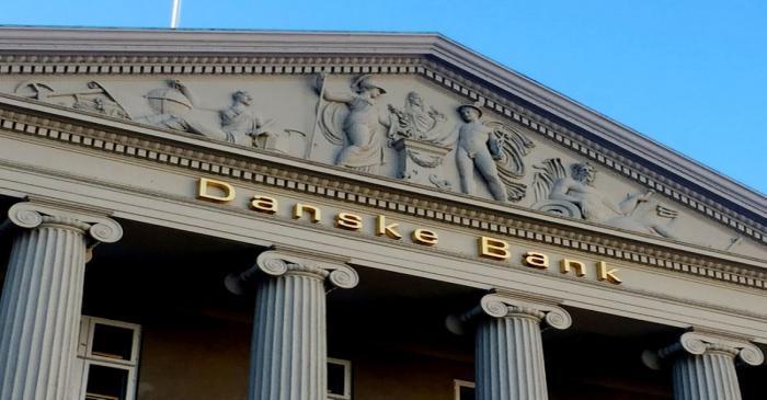 FILE PHOTO: General view of the Danske Bank building in Copenhagen
