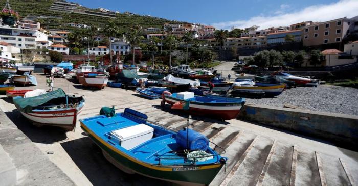 FILE PHOTO: A general view of Camara de Lobo village near Funchal, Portugal