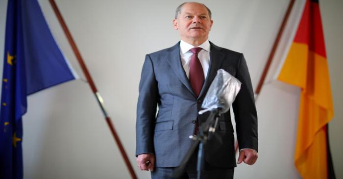 FILE PHOTO: Reuters interview with German Finance Minister Olaf Scholz in Berlin