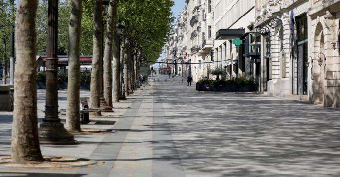 FILE PHOTO: Contrast of Paris during and after the lockdown due to the coronavirus disease