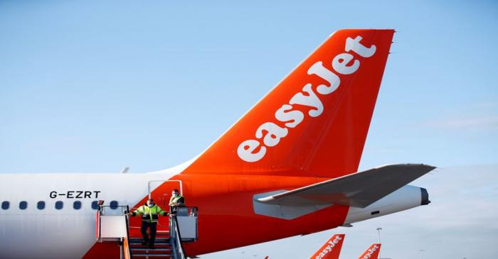FILE PHOTO: EasyJet restarts its operations amid the coronavirus disease (COVID-19) outbreak at