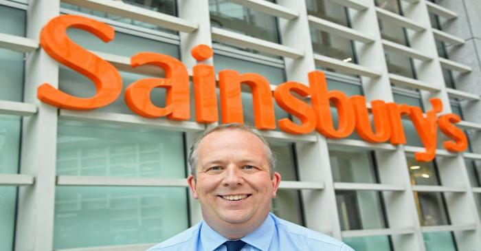 FILE PHOTO: Simon Roberts of Sainsbury's poses for a portrait at the company headquarters in