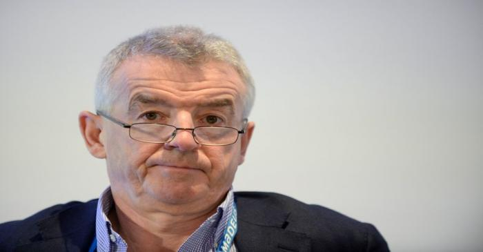 FILE PHOTO: Ryanair Chief Executive Michael O'Leary attends the Europe Aviation Summit in
