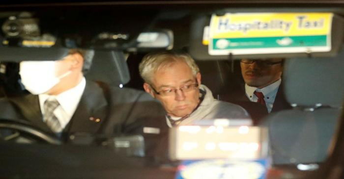 FILE PHOTO: Greg Kelly, the former deputy of ousted Nissan chairman Carlos Ghosn, is seen in