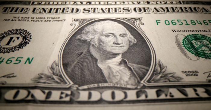 A U.S. Dollar banknote