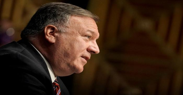 U.S. Secretary of State Pompeo testifies before Senate Foreign Relations Committee