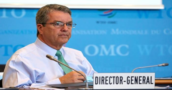 FILE PHOTO: Azevedo Director General of the WTO attends the General Council in Geneva