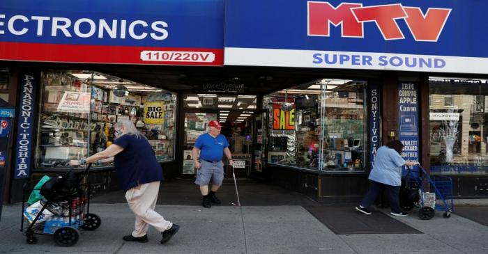 Retail shops in Brooklyn as phase one reopening continues duing outbreak of the coronavirus
