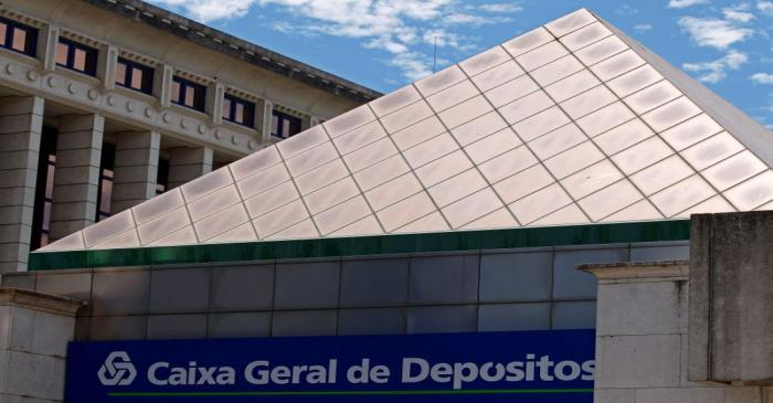 The headquarters of Portuguese bank Caixa Geral de Depositos is seen in Lisbon