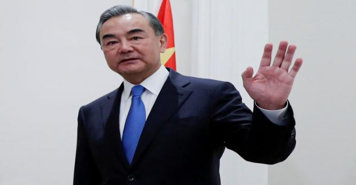 FILE PHOTO: China's State Councillor Wang Yi meets Canada's FM Francois-Philippe Champagne in